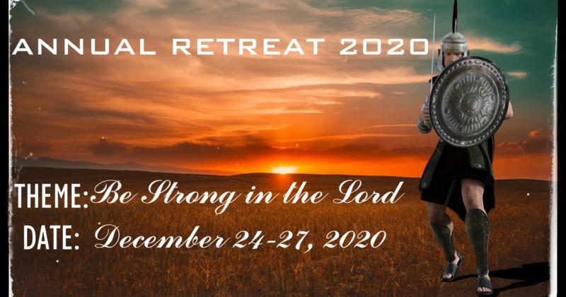 ANNUAL RETREAT 2020